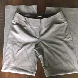 Express Editor Pants - Charcoal Gray - Size 8 R